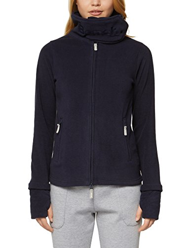 Bench Damen Sweatjacke Funnel Fleece, Blau (Essentially Navy Bl11341), X-Large