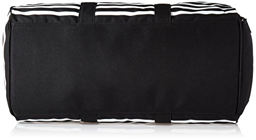 Herschel Novel Duffle Gürteltasche, Woodland Camo Black Offset Stripe/Black Veggie Tan Leather
