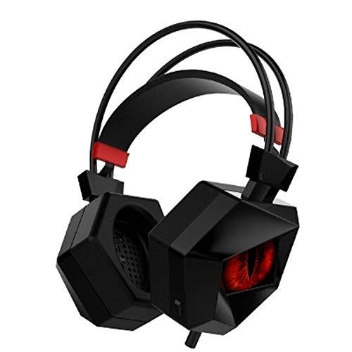 Gaming Headset per PS4, 7.1 Surround Stereo Sound 3.5mm, Over-Ear con Microfono a LED a cancellazione del Rumore con Controllo del Volume per Laptop Mac | Best Gift Idea - Confronta prezzi