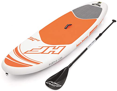 Bestway HYDRO-FORCE SUP Aqua Journey aufblasbares Stand-up-Paddle Board, 274x76x12 cm