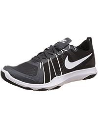 Nike Men s Flex Train Aver Cross Trainer Anthracite/Black/White 10 D(M) US