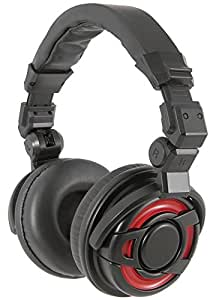 HP350PRO Citronic DJ Limited Edition Headphones, Red