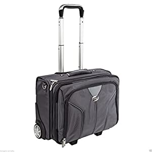 American Tourister Briefcase Suitcase Laptop Business Travel Trolley Wheeled Bag