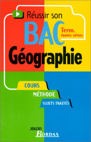 019 - GEOGRAPHIE TERM. (Ancienne Edition)