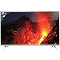 Panasonic 147 cm (58 Inches) Full HD LED TV TH-58D300DX (Gray) (2016 model)