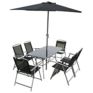 Jackson Outdoor Garden Furniture Set includes Rectangular ...