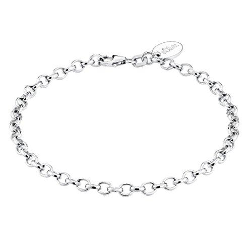 S. Oliver Damen-Armband 925 Silber 19.0 cm - 486897