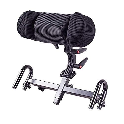 KFDQ Rollstuhl Kopfstütze verstellbar Elektrische Universal Kopfstütze Kissen Transit Self Propel - Abnehmbare bequeme verdicken Rückenkissen Kissen Transport