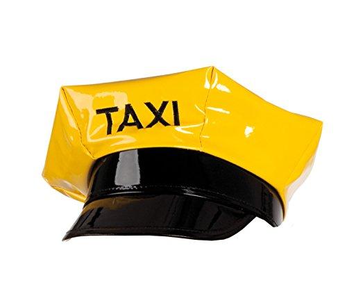 Boland 01346 - Erwachsenenmütze Taxi, Einheitsgröߟe, gelb (Halloween Taxi Kostüm)