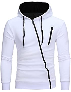 Sudadera para Hombre, Amlaiworld casual ropa hombre oferta invierno otoño hombre Manga Larga de Sudadera Outwear...