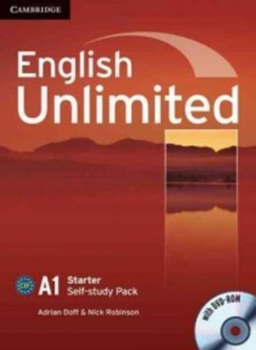 English Unlimited Starter Self-study Pack (Workbook with DVD-ROM) by Adrian Doff (2010-09-20)