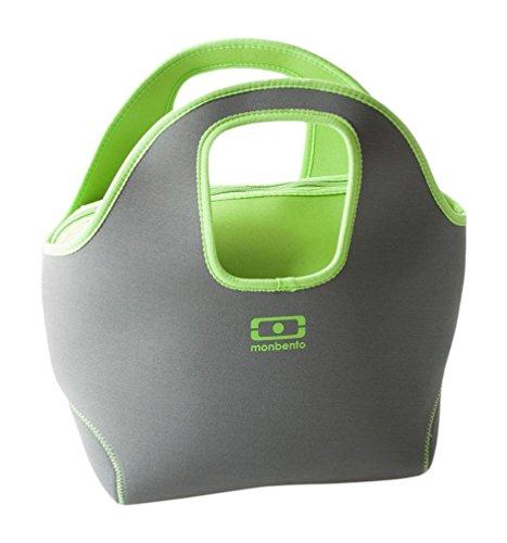 MB Pop up grau / grün - Die zweiseitige Kühltasche