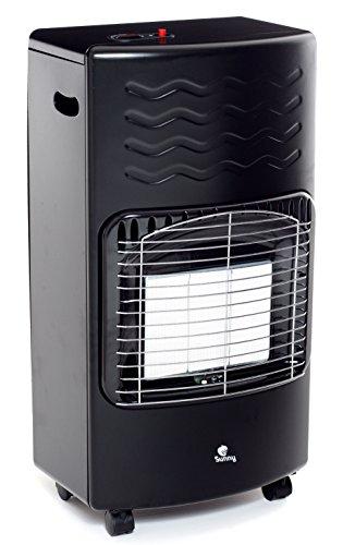 Sunny S40-01Estufa infrarrojos GPL S40, 4200W, Negro