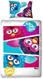 Character World 135 x 200 cm Furby Furbish Single Panel Duvet Set, Multi-Color