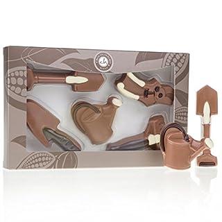 Gartenwerkzeuge aus Schokolade - 5-teiliges Geschenkset