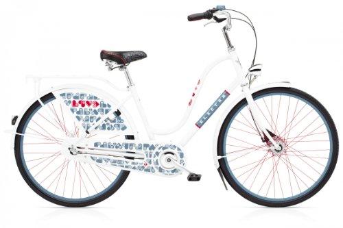 Electra Amsterdam Fashion 3i Love white Hollandrad Shimano 3-gang