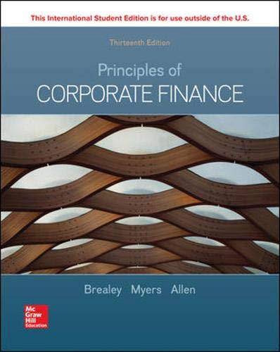 Principles of corporate finance (Scienze)