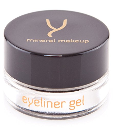 Gaya Cosmetics Vegan Gel Eyeliner - Professional Liquid Eyeliner Non Smudge Black Eye Liner Long Lasting Formula (EY1)