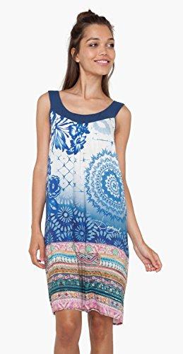Robe Desigual Beachdress Exotic Jeans Bleu