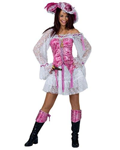 Pierro´s Kostüm Piratin Bonny Damenkostüm Frauenkostüm Komplettkostüm Größe 32/34 für...