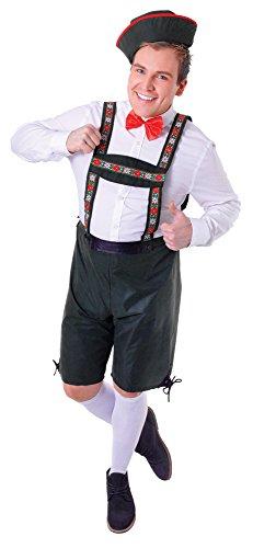 Bristol Novelty AC513 Hansel Kostüm, Mehrfarbig, Size 42-44-Inch