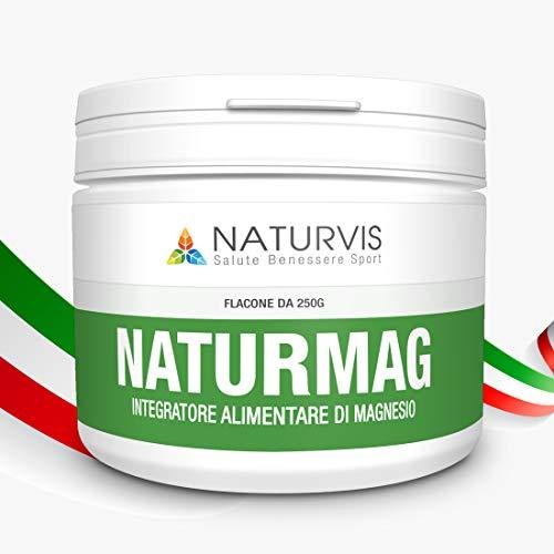 Integratore alimentare di magnesio - Solubile - Naturmag 250 g