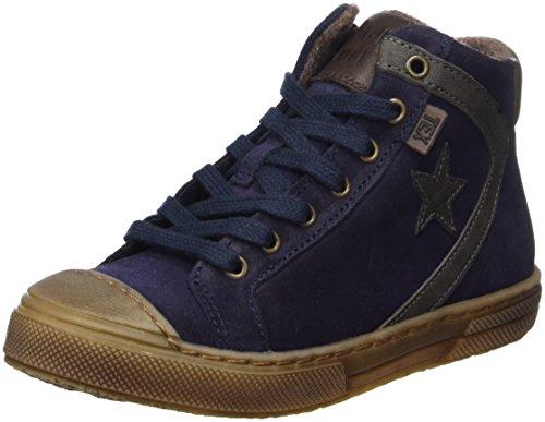 Bisgaard Unisex-Kinder Schnürschuhe Hohe Sneaker, Blau (606 Blue), 36 EU