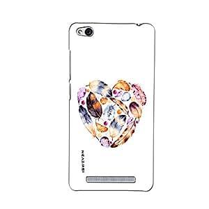 iSweven printed Redmi3S_3141 seashell Design Multicolored Matte finish Back case cover for Xiaomi Redmi 3s