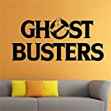 yiyiyaya Ghostbusters Sticker Dessin Animé Bande Dessinée Héros Vinyle Autocollant Art Décorations Murales Décorations pour la Maison Décor de Chambre Stickers Blanc 58 x 28 cm