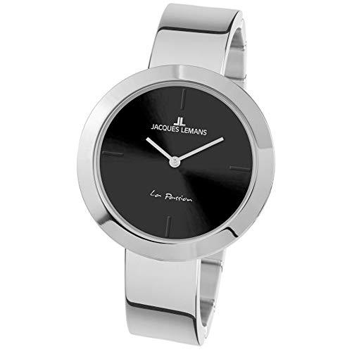 Jacques Lemans Women's La Passion 37mm Steel Bracelet Quartz Watch 1-2031H