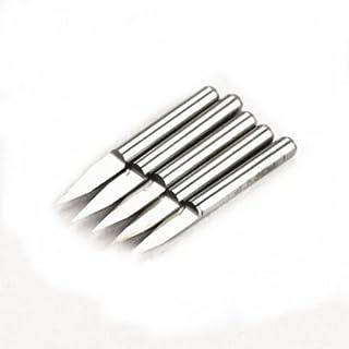 Autek 5 x Engraving Bits CNC PCB Carbide Milling Cutter Tool 30 degree J3.3001 0.1 mm