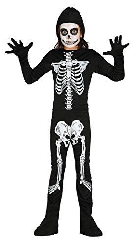 (Enter-Deal-Berlin KINDERKOSTÜM - Skelett - Größe 142-148 cm ( 10-12 Jahre ))