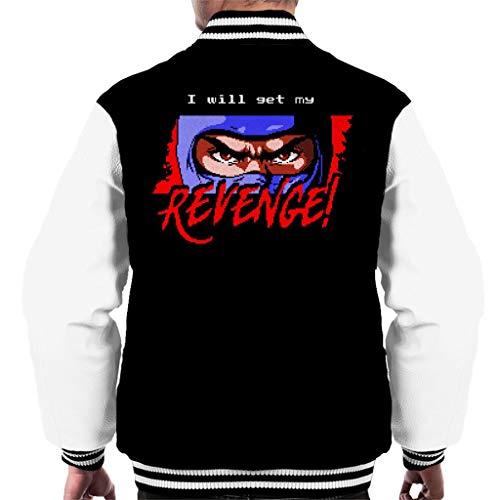 Cloud City 7 I Will Get My Revenge Retro Ninja Gaiden Men's Varsity Jacket