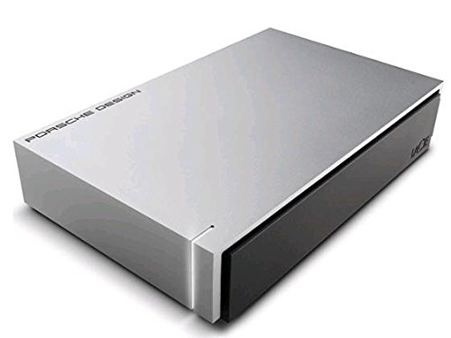 LaCie Porsche Design 8 TB Desktop Drive - 8 TB Festplatte - light grey for Mac - 3.5