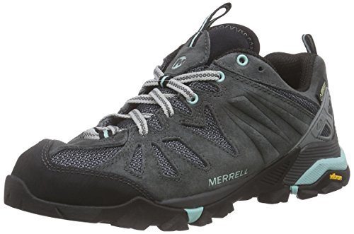 Merrell Capra Gore-Tex, Women Low Rise Hiking Shoes, Grey (Granite), 5.5 UK...