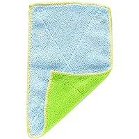 1 toalla de mano de microfibra gruesa para cocina, plato de cocina, paño de