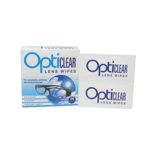 Salviette Opticlear lenti per occhiali & fotocamere ottico dispositivi