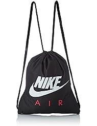 Nike Ba5262 Bolsa de Cuerdas para el Gimnasio, 20 cm, Black/University Red