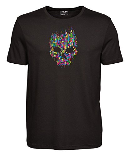 makato Herren T-Shirt Luxury Tee Mosaik Black