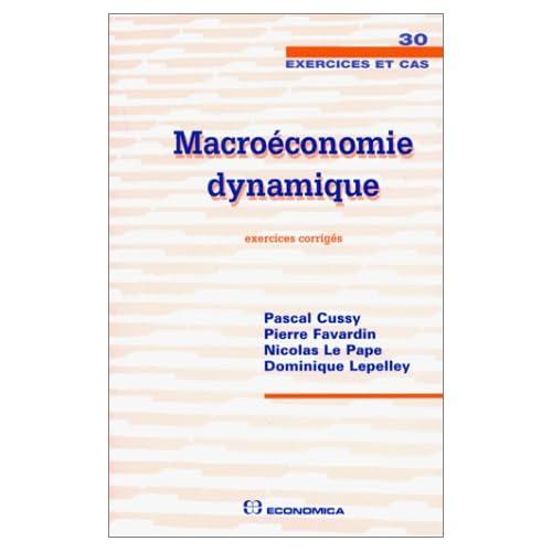Macroéconomie dynamique
