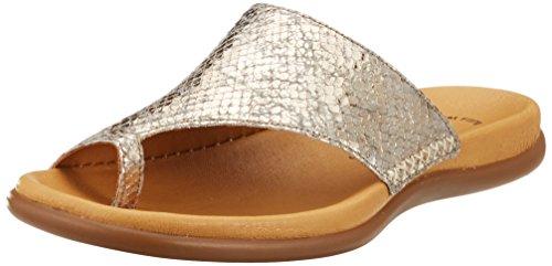 Gabor Shoes Damen Jollys Pantoletten, Beige (Kiesel), 41 EU