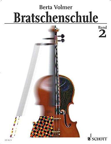 Bratschenschule: Band 2. Viola.