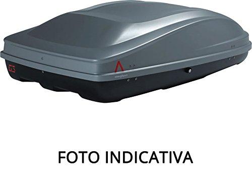 Thule 612908 Box Dynamic L, Doppia Apertura, Cromato Limited Edition