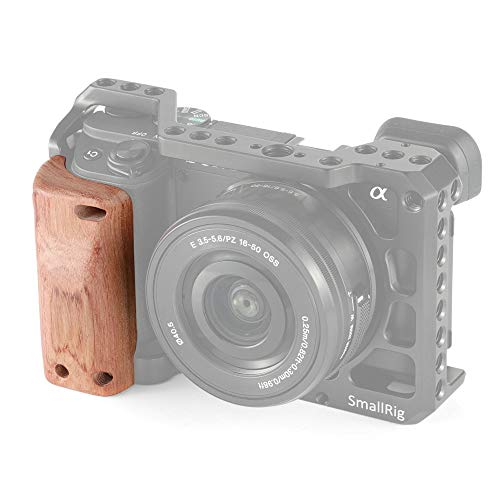 SMALLRIG Wooden Handle Griff Holzgriff für A6400 Cage - APS2318 (Griff Cage)