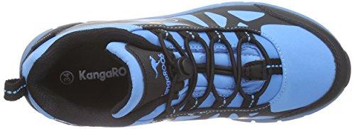 KangaROOS Jungen Kos 555 Trekking-& Wanderhalbschuhe Blau (lake blue/black 455)
