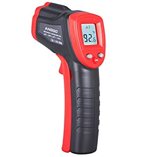 ANGGO Berührungslose Digitale Infrarot-Thermometer Temperatur Gun -58°F ~ 716°F