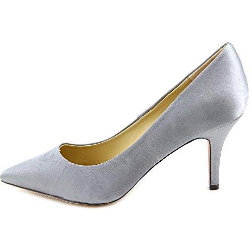 Menbur Evening Damen Spitz Textile Stöckelschuhe Grey