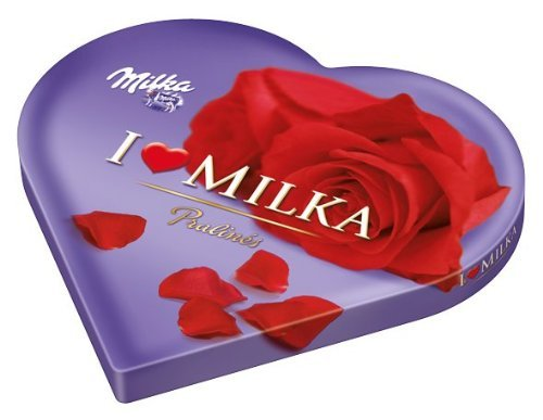 Preisvergleich Produktbild Milka I Love Milka Pralines Herz Menge:187g