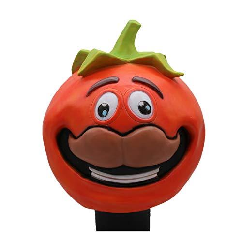 WYJSS Halloween Maske Fort Nacht Kirschtomaten Kopfbedeckung,Orange-OneSize