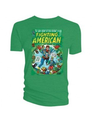 Fighting American T-Shirt Ghost City Größe L -